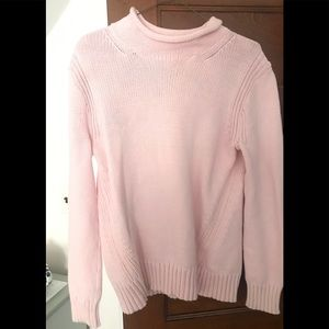 J. Crew Cotton roll neck sweater